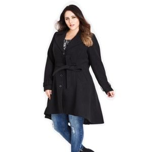 Brand New City Chic Frill Back Coat plus size 20